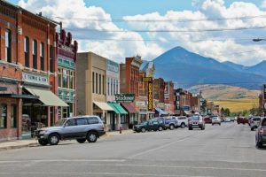 Main Street Livingston,Montana