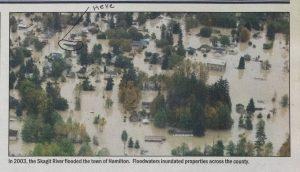 Hamilton, Washington Moves flooding