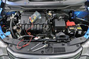 Electric car repair