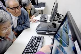 old people working