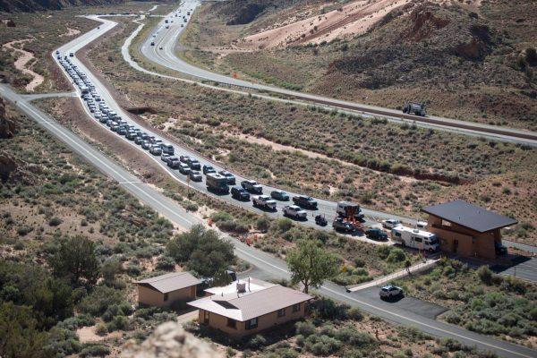 Utah park traffic