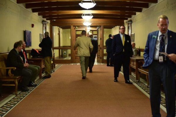 Montana State Capital hallway