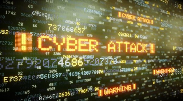 Cyer attack virus hacking