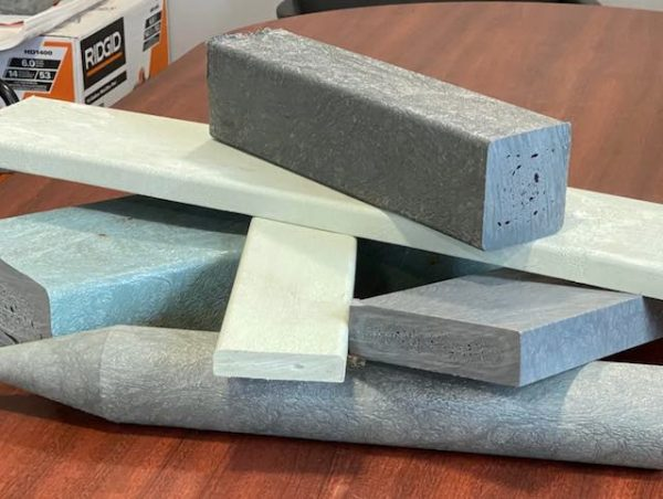 Plastic lumber recycled