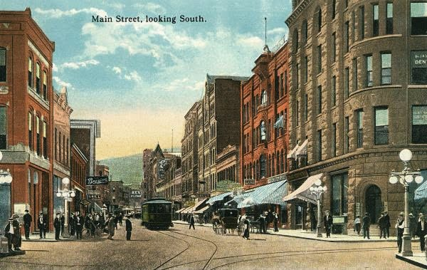 old downtown Helena, Montana