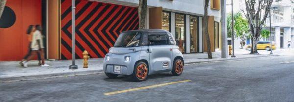 Citroën-Ami-electric vehicle car