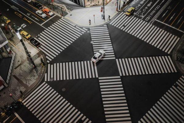 crosswalk intersection