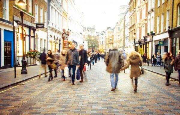 car free London streets