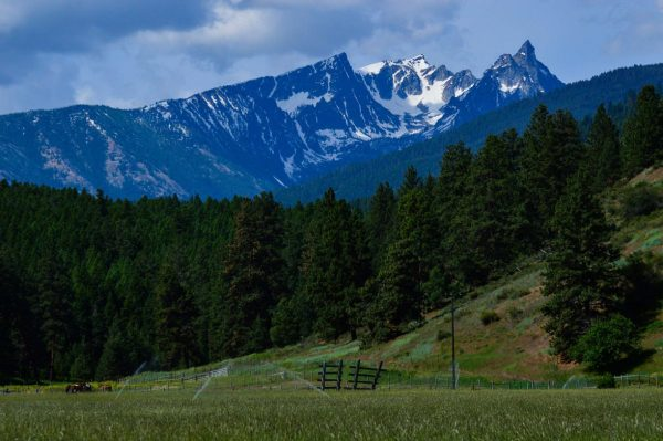 Ravalli County mountain