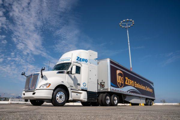 zero emission truck energy