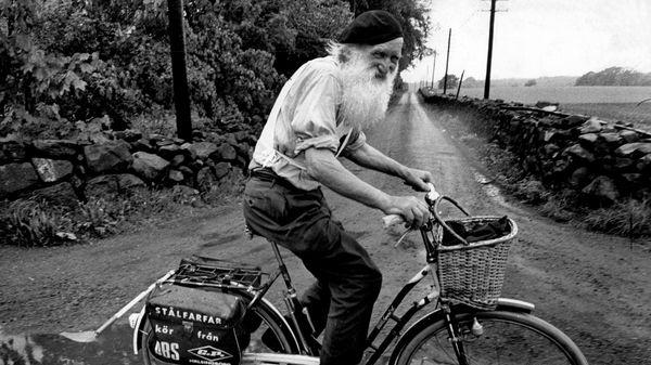Gustaf Håkansson - bike old age