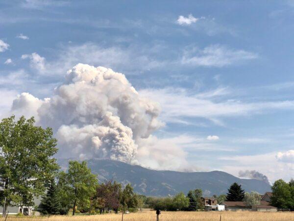 Montana fire climate change