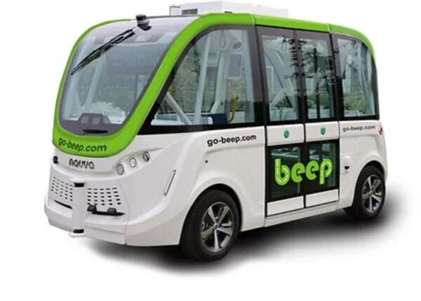 Beep automated shuttle yellowstone transportation autonomous