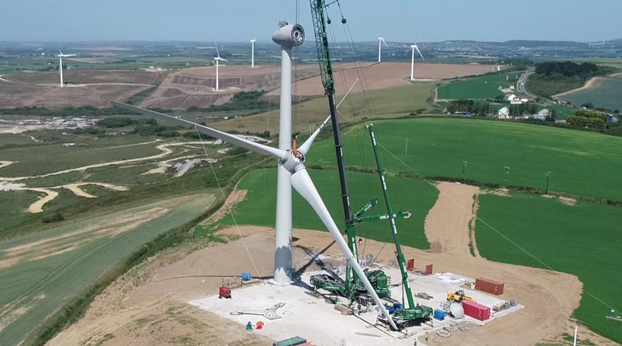 Cornwall wind turbine