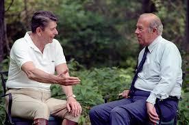 Reagan and Schultz