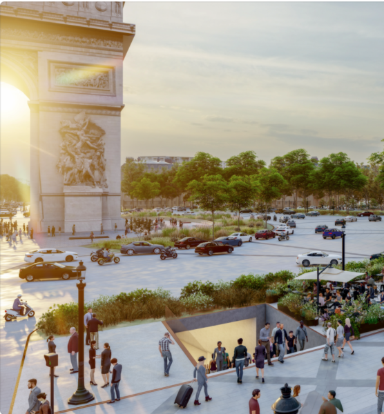 Champs-Elysees-Redesign