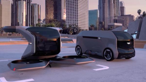 Cadillac drone vehicle auto autonomous