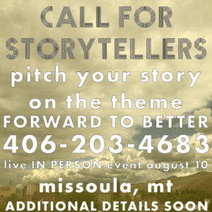 pitch your story!
