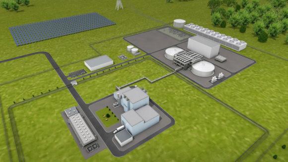 Natrium advanced nuclear reactor power plant
