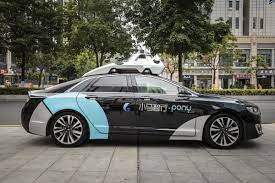 Pony autonomous vehicle