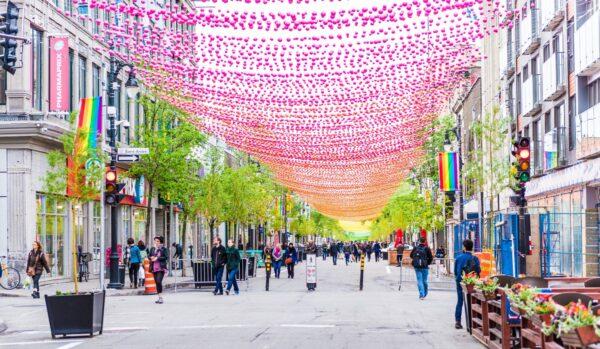 montreal walking streets