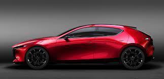 Mazda electric car vehicle